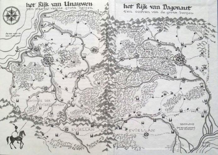 Landkaart tekenen