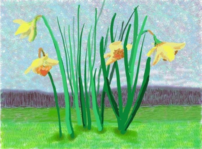 De kleuren van de lente